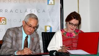 Firma STC convenio en favor de la difusión cultural