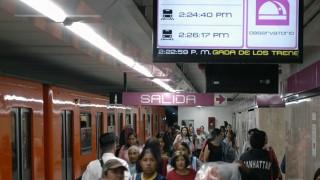 STC Metro instala plataforma que muestra en tiempo real el avance de los trenes