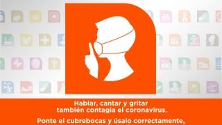 Exhorta el Metro CDMX a los usuarios a guardar silencio a fin de reducir la posibilidad de contagio